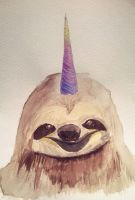 sloth by Tokysha