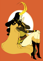 Lady Loki by parapo
