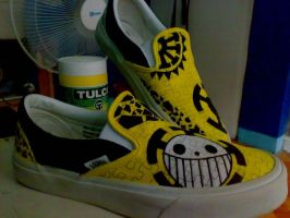 Vans trafalgar law design by Elison182