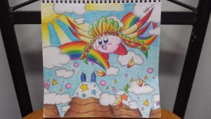 :Kirby:  Wing : Above the Clouds by SuperMarioFan888