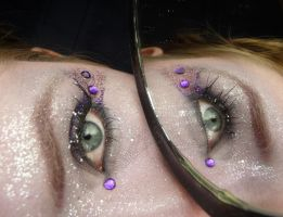 Purple Eye Stock Mirror III by Melyssah6-Stock