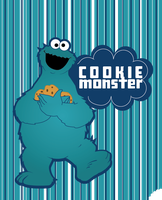 Cookie Monster by XkuroXnekoX