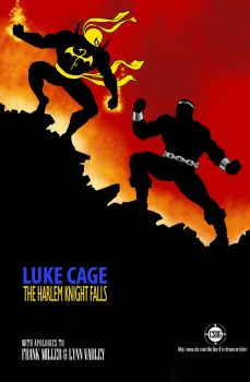 TLIID 311 - Luke Cage cover homage DKR 4 by Nick-Perks