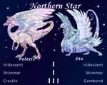 Northern Star - Polaris and Dia by WindsweptSpirit