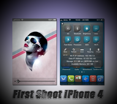 First Shoot iPhone 4 by GrimlocK38