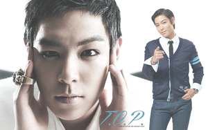 T.O.P. wallpaper - First version by edinaholmes