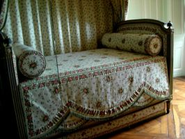 Queen Marie-Antoinette's bed by April-Mo