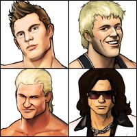 More PW Torch Wrestlers by grantgoboom