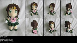 Plushie: Sailor Jupiter - SM by Serenity-Sama