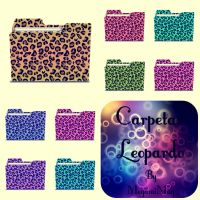 Carpetitas Leopardo by MegamiMay