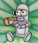 Baby Bender :3 by arcade-robot