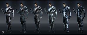 Novus-Suit Concepts by JustMick