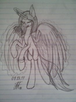 Art Trade with FoxTails2000 SCETCH by Margo24