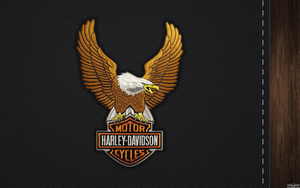Eagle logo Harley-davidson by favorisxp