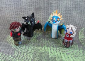 Wobbles: How to train Your Dragon 2 Group by okapirose