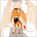 Dragon Garameth by spiritkitsune-dr