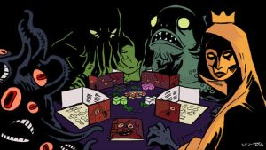 A Game of Horrors by tohdraws