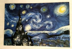 Starry night  by ilinea