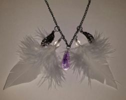 Tainted Angel Necklace by orribu