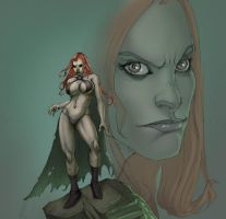 goblin queen red by bleakest by Selkirk