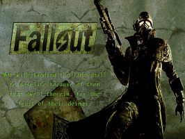 Fallout Wallpaper by GainesHall