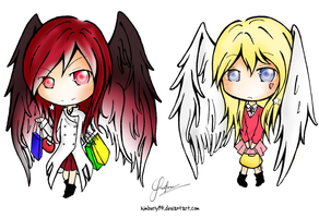PC - Shopaholiced-Angels by yuukinguyen