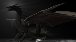 Blender Dragon 3 by DennisH2010