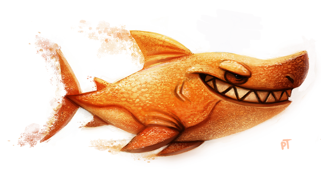 Day 564. Sand Shark by Cryptid-Creations
