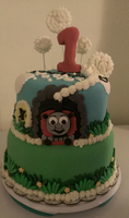 Cake I made by mysticalelements17