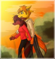 Commission for AnimeFox223 by InuHoshi