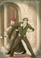Remus and Dora_DH by roby-boh