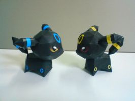 Chibi Umbreon - 30th model celebration by aquametal