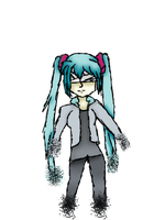 The Disappearance Of Miku Hatsune by easterlil