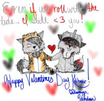 Let the Valentines Day Drawings begin! by KiogaXXX