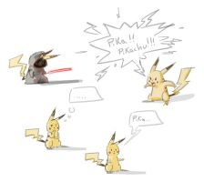 Pika time xD by kajinman