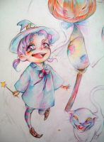 little witch by ymymy