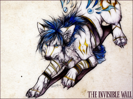 .:THE INVISIBLE WALL:. by WhiteSpiritWolf