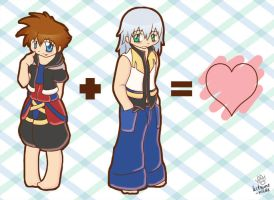 :KH: My Favorite Type of Math by kitsune-nilde