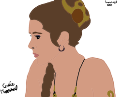 Leia: Jabba's Palace by leapylion3