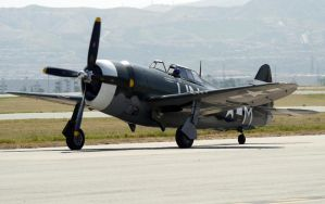 Curtiss P-47G Taxi by shelbs2