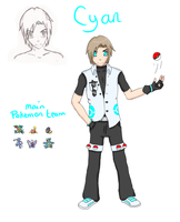 Cyan reference by Kannacchi