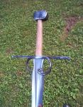 Leafblade rough hilted by sstheblacksmith