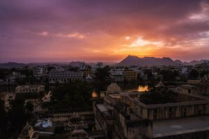 Sunset India 01 by Bestarns