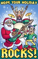 Hope Your Holiday Rocks by D-MAC