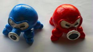 Better Quality Octorok Duo Red and Blue by Scotaliano