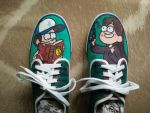 Mabel and Dipper shoes by robbeman