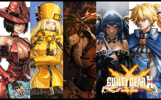 GuiltyGear Wallpaper by MistCastle