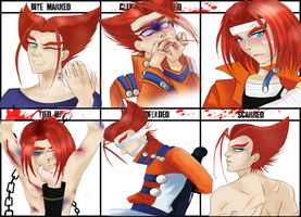 Character Abuse Meme by Martyna-Chan