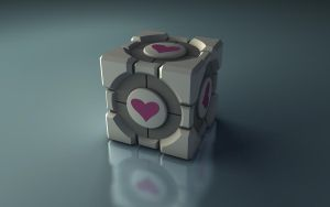 Companion Cube by Kevkaz