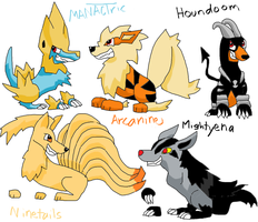 Funny canine pokemon by CGskillz